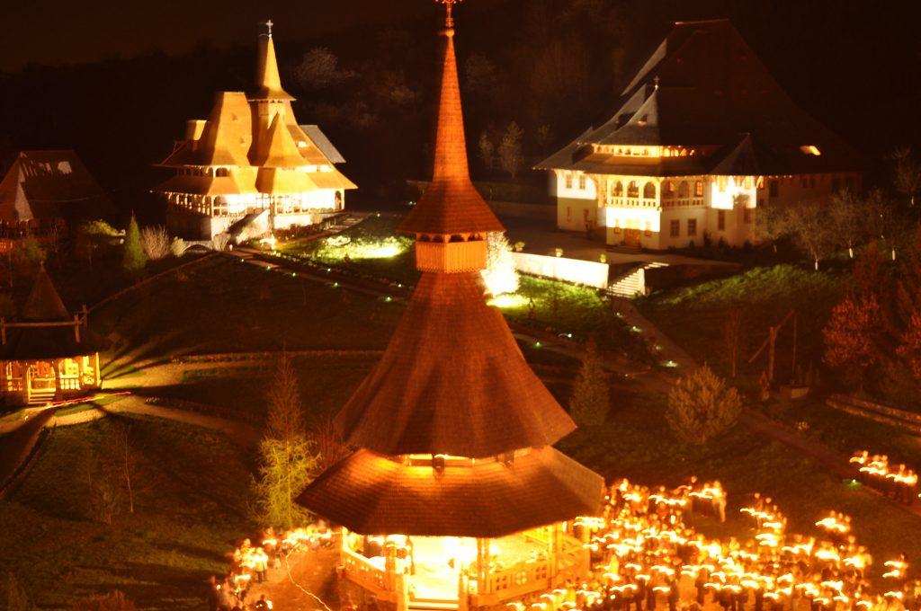 paste Manastirea Barsana Inviere